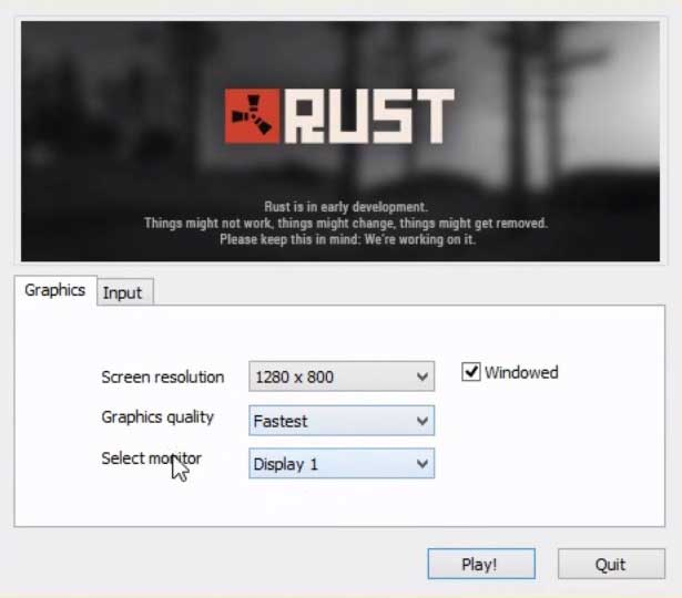 Как повысить fps в Rust